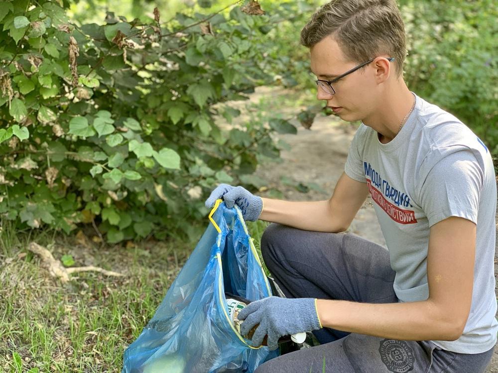 Молодогвардейцы Московской области провели экологический забег в Коломне