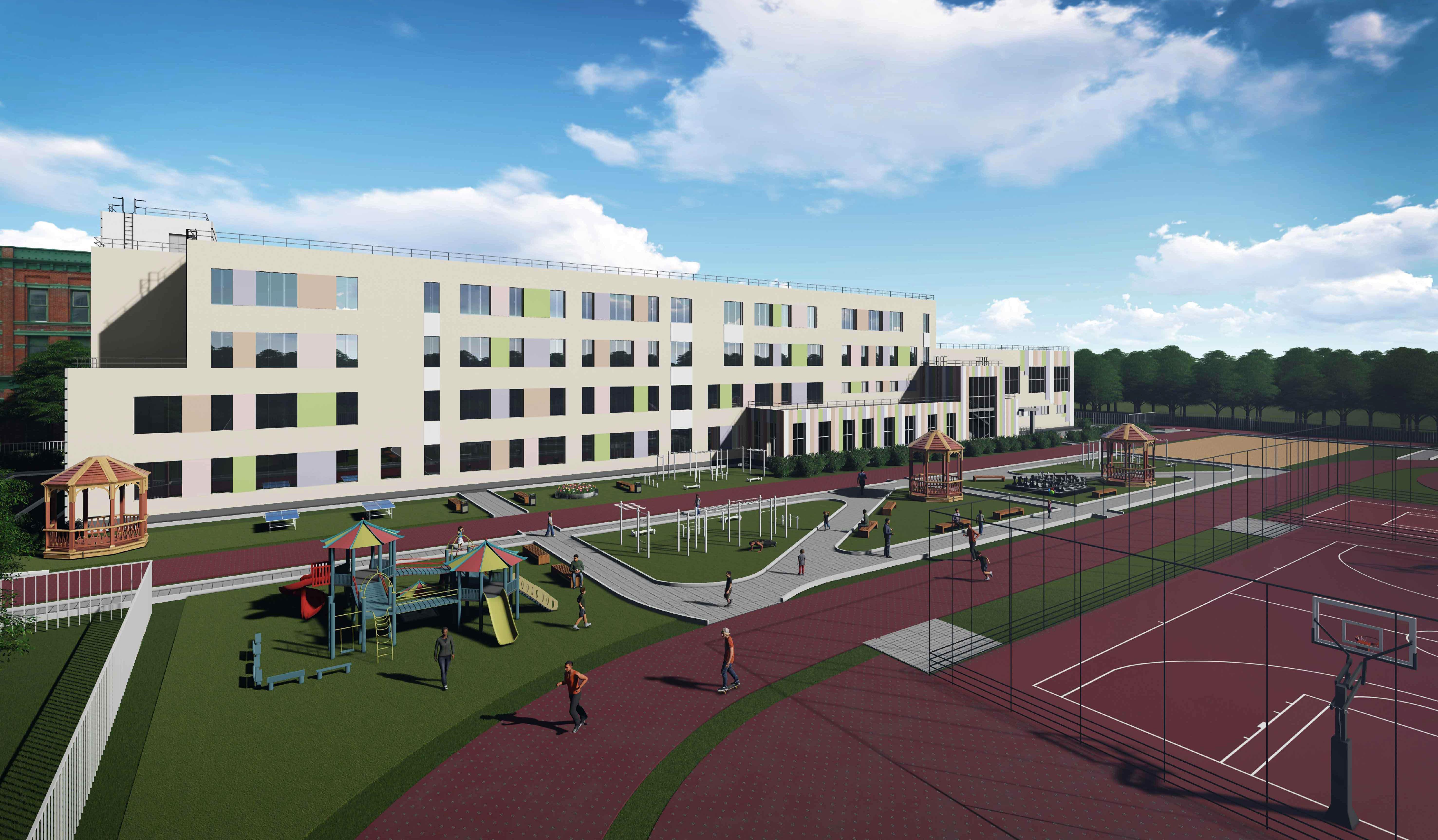 Определен подрядчик на строительство школьного корпуса гимназии №2 «Квантор» в Коломне