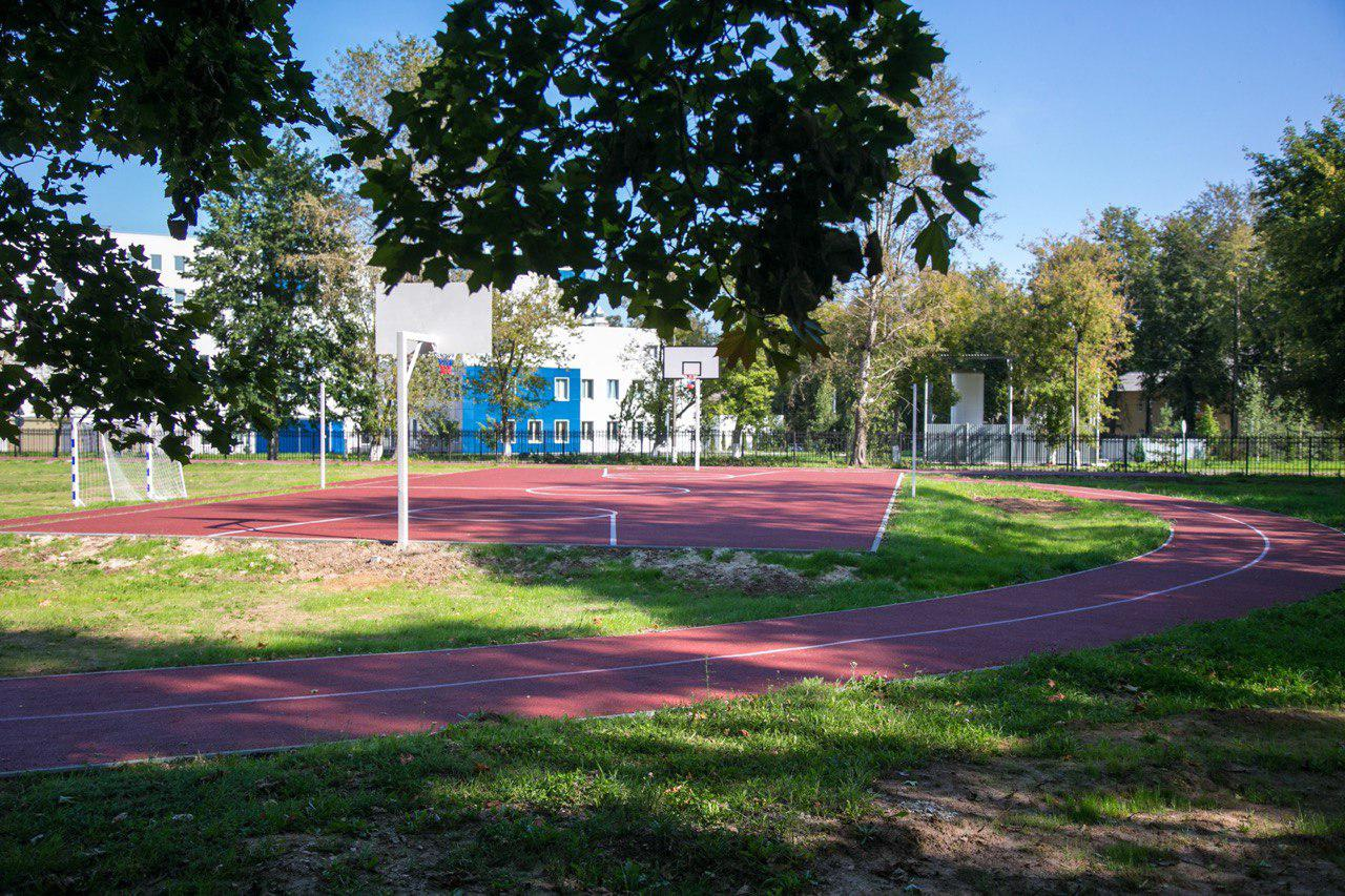 Новости Коломны   В двух коломенских школах  установили новые спортивные площадки Фото (Коломна)   sport otdyih dosug iz zhizni kolomnyi
