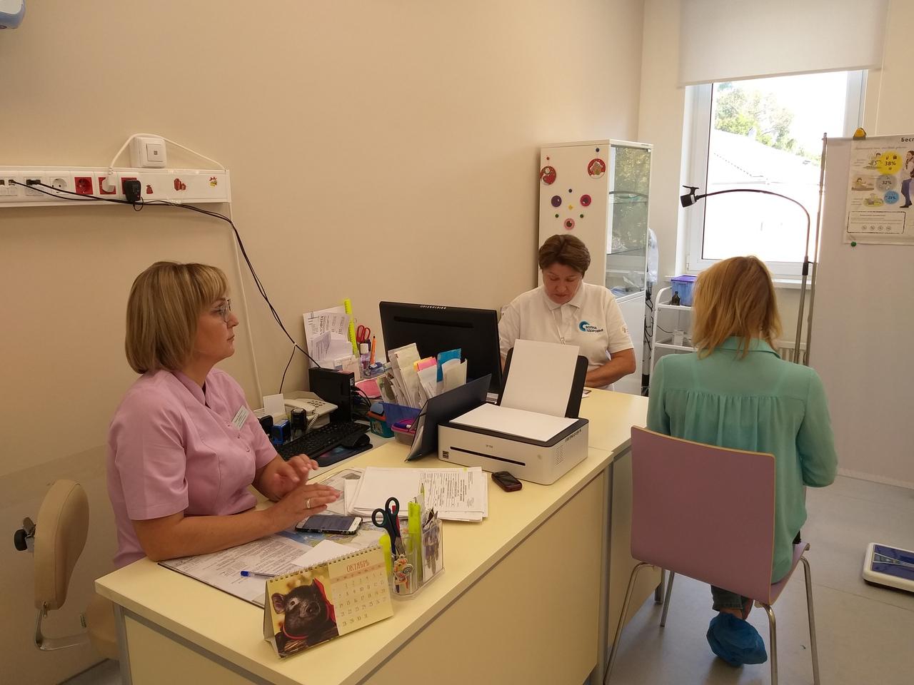 В Коломенском перинатальном центре обследовали 65 пациенток в рамках акции «Волна здоровья»