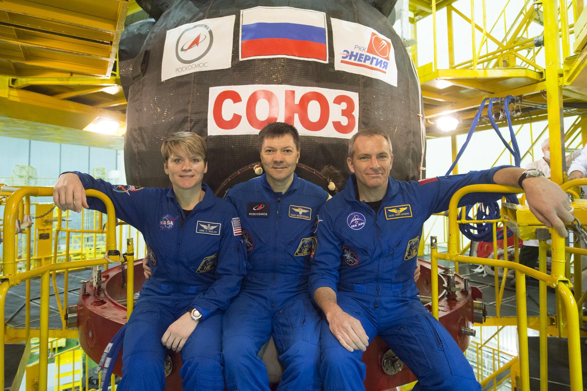 Новости Коломны   Коломенцы встретили космонавтов длительной экспедиции на МКС Фото (Коломна)   iz zhizni kolomnyi