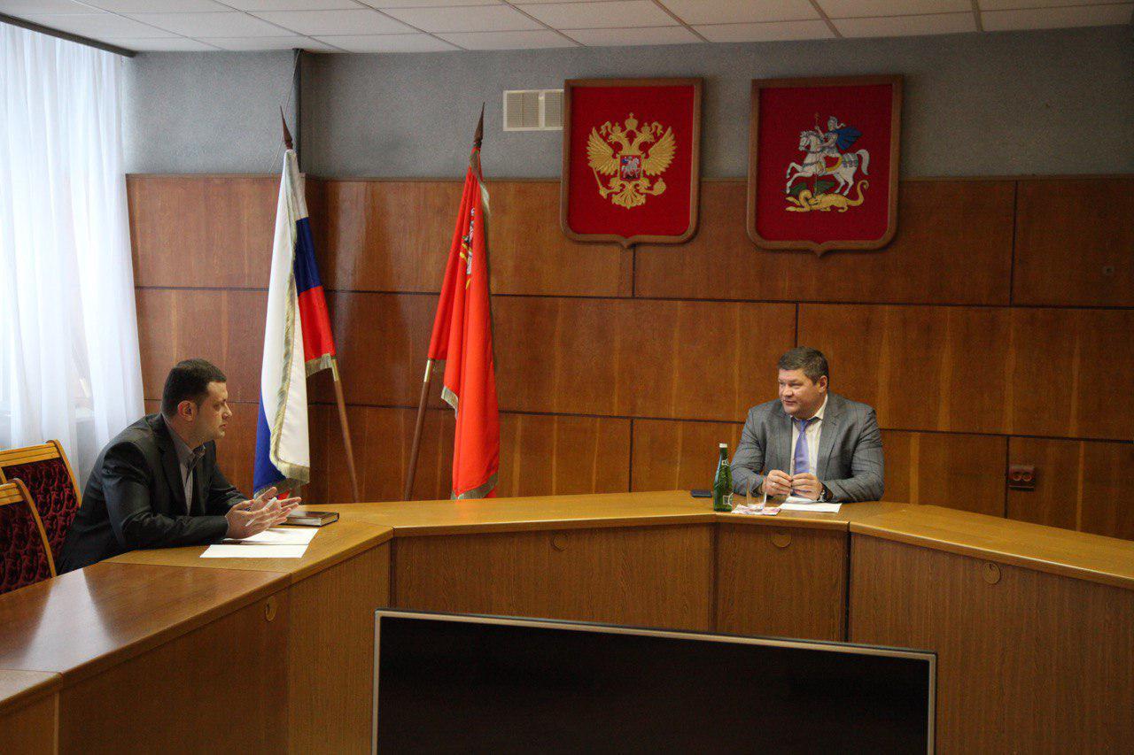 Денис Лебедев провел очередной личный прием предпринимателей