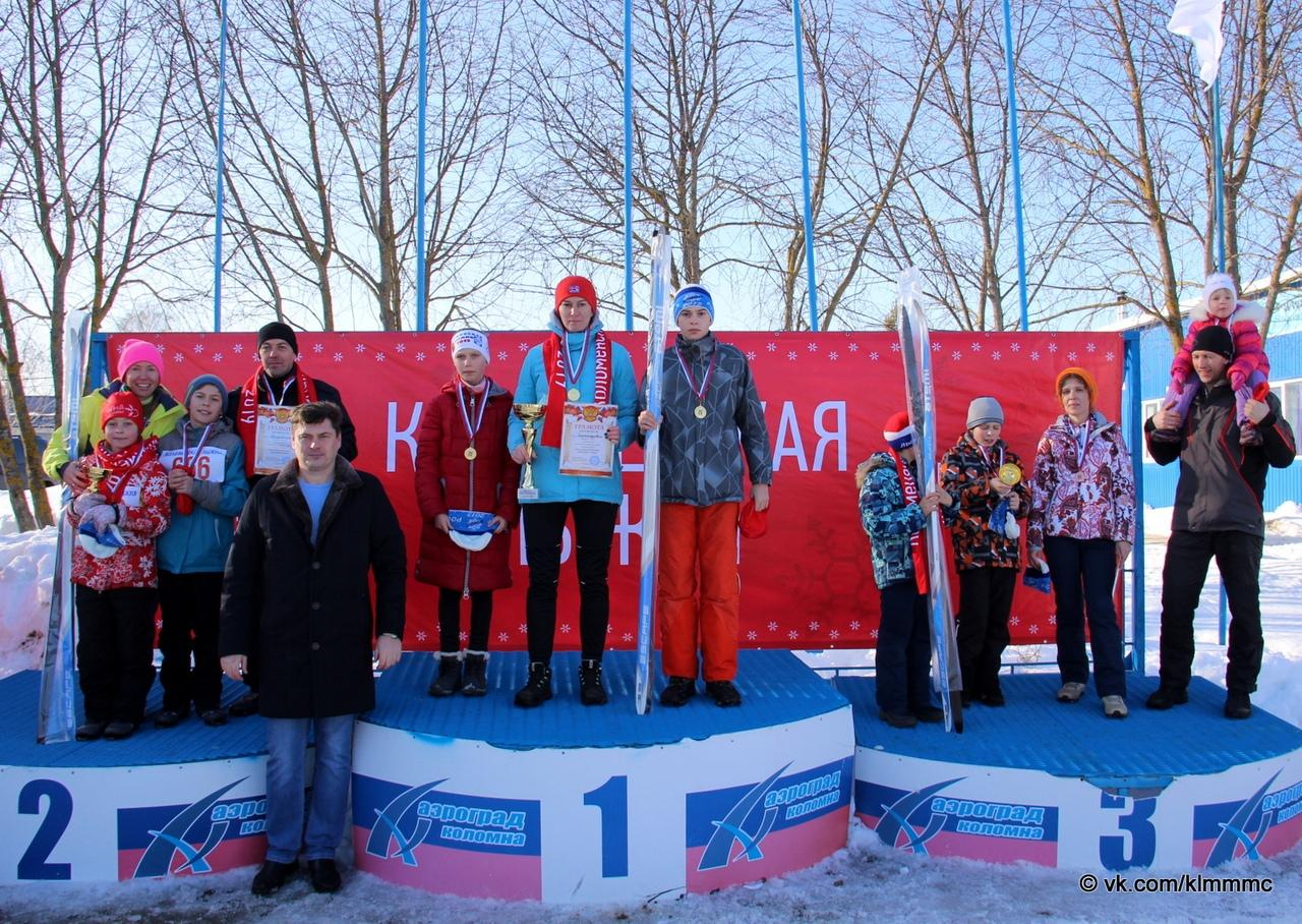 Итоги «Коломенской лыжни 2019»