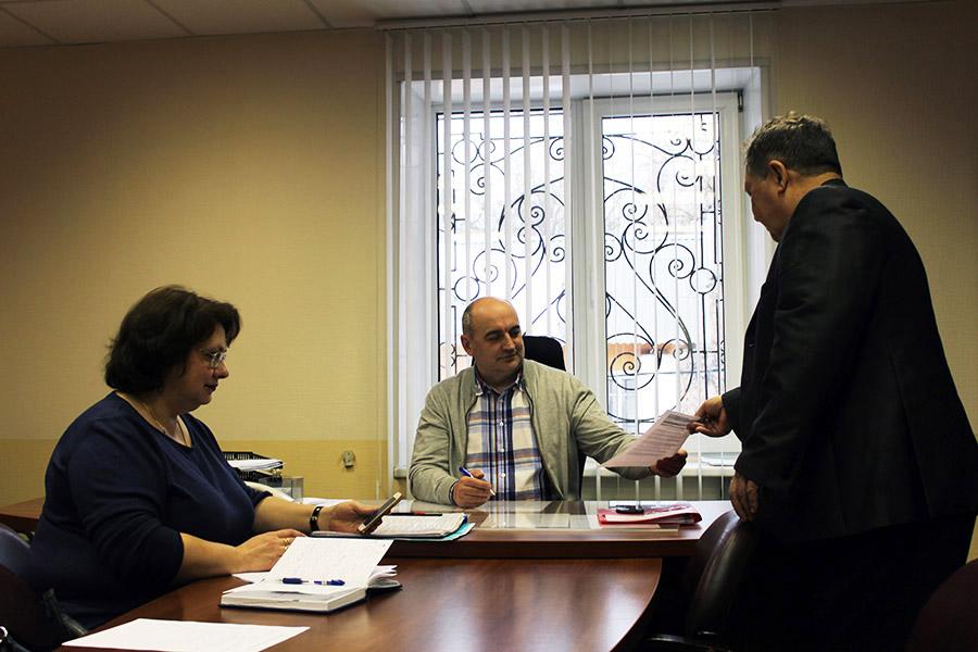 Прием граждан проводится в «Департаменте городского хозяйства» еженедельно