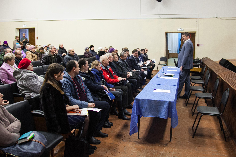Глава округа и жители Акатьево обсудили насущные вопросы