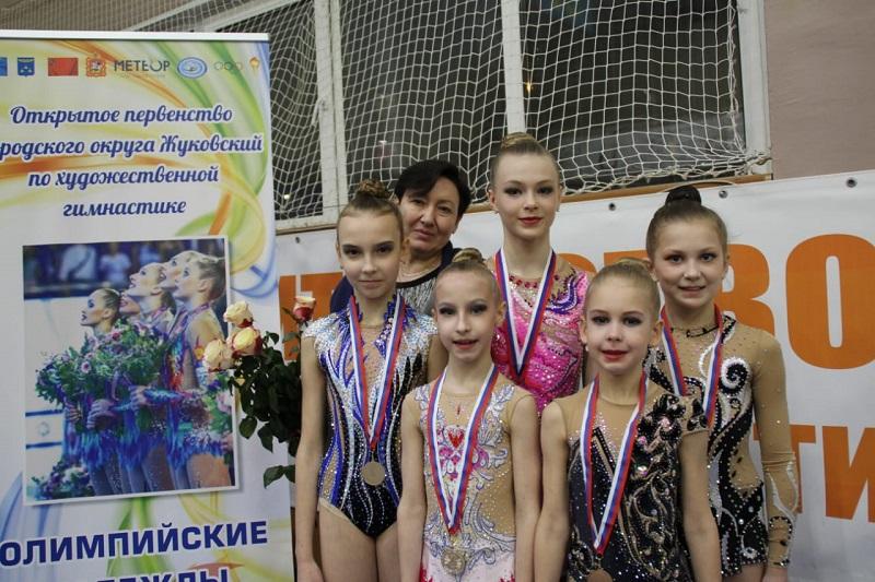 Коломенские гимнастки успешно выступили на Открытом первенстве по художественной гимнастике