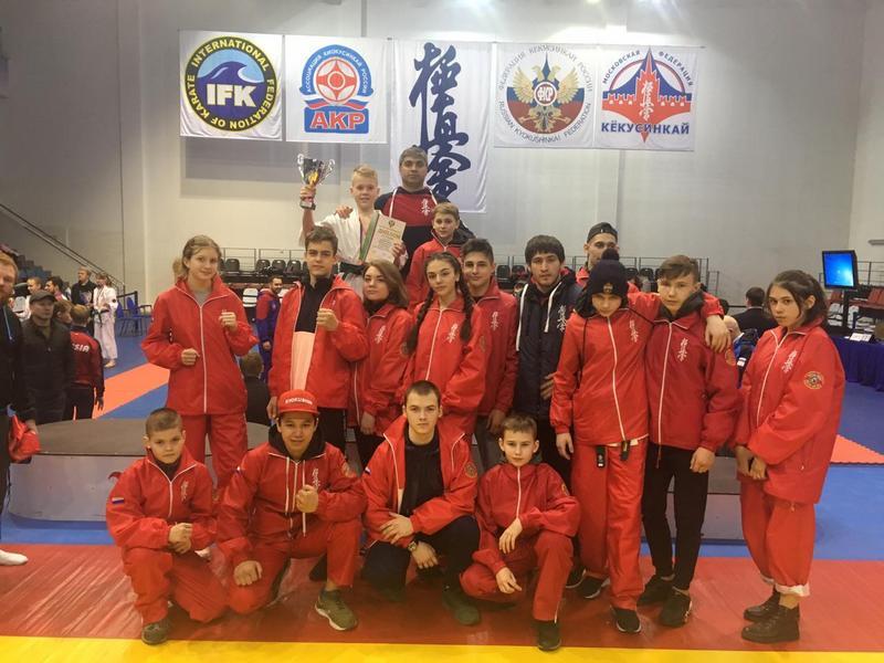 Коломенец завоевал бронзу на Чемпионате России по киокусинкай