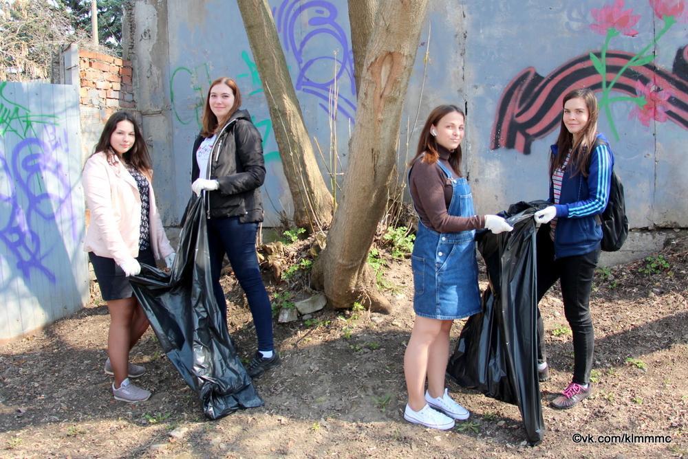 Студенты медколледжа отметили День Земли