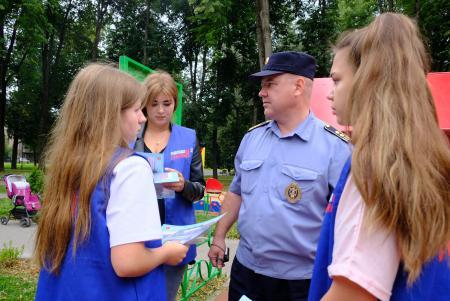 Госадмтехнадзор Московской области принял участие во Всероссийской акции «Безопасность детства»