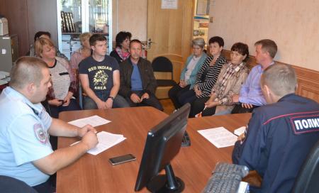 Коломенские полицейские отчитались перед населением