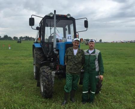 Коломенец Михаил Ромадин стал призером регионального конкурса «Пахарь – 2019»