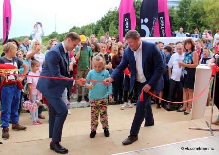В Колычёве открылась площадка Tele2 с бесплатными лекциями и кинопоказами