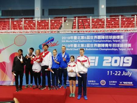 Коломенец принёс бронзовую медаль для сборной России на первенстве мира по бадминтону