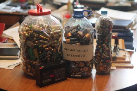 МУП «Спецавтохозяйство» примет пластик и батарейки