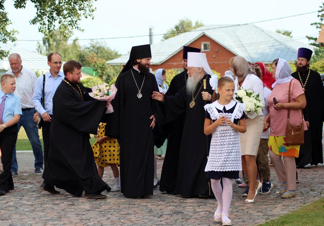 В День знаний Коломну посетит Митрополит Коломенский и Крутицкий Ювеналий