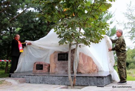 Памятный знак, посвящённый погибшим в локальных войнах и вооруженных конфликтах, открыли в Коломне