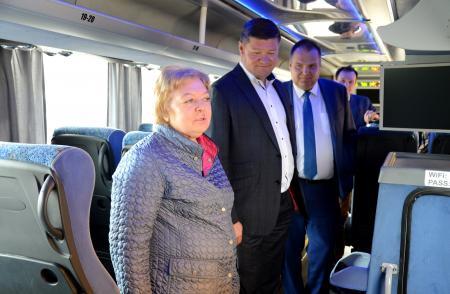 На маршрут «Коломна - Москва» вышли автобусы повышенной комфортности