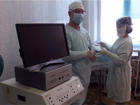 В Коломенскую больницу поступила современная нейрохирургическая навигационная система
