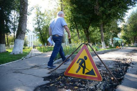 В Коломенских медучреждениях продолжается ремонт дорог