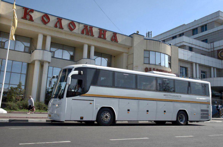 На маршруте в Коломне вышли шесть комфортабельных автобусов большого класса