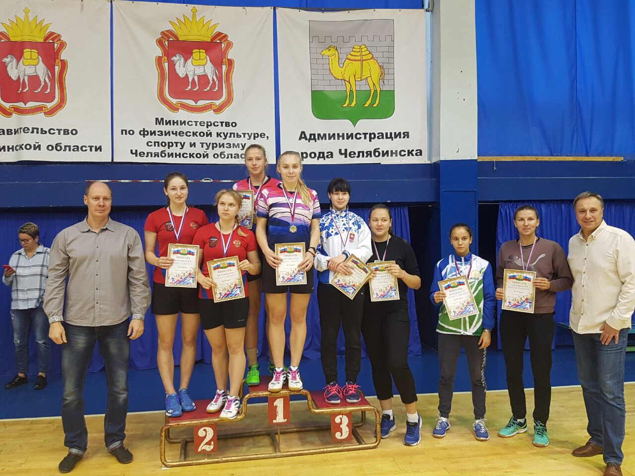 Коломенские бадминтонисты стали призерами и победителями Всероссийского турнира и Чемпионата в Челябинске