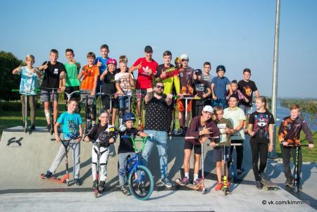 Торжественное открытие скейт-парка состоялось в Коломне