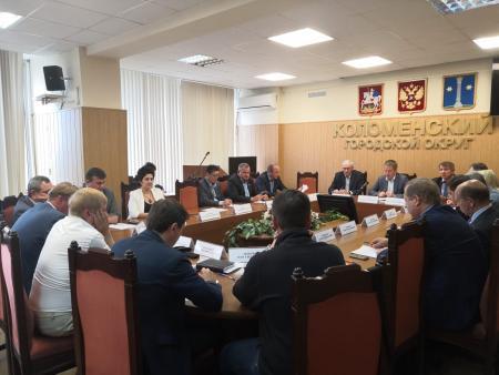 Выступление Заместителя председателя Контрольно-счетной палаты Коломенского городского округа на заседании Совета депутатов