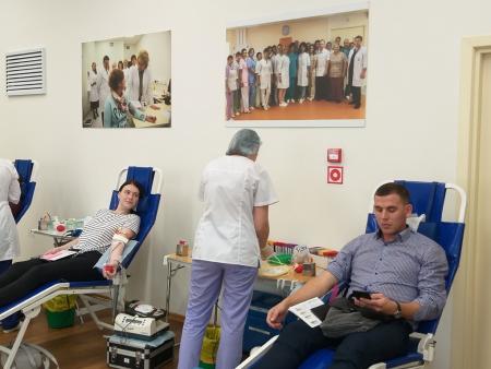 В Коломенском перинатальном центре прошел «День донора»