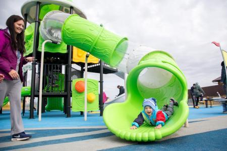 Две губернаторские площадки открыли в Коломне
