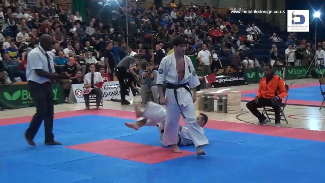 Коломенец сразился на европейском турнире по киокусинкай карате  😵 #КоломнаСпорт #НовостиКоломны