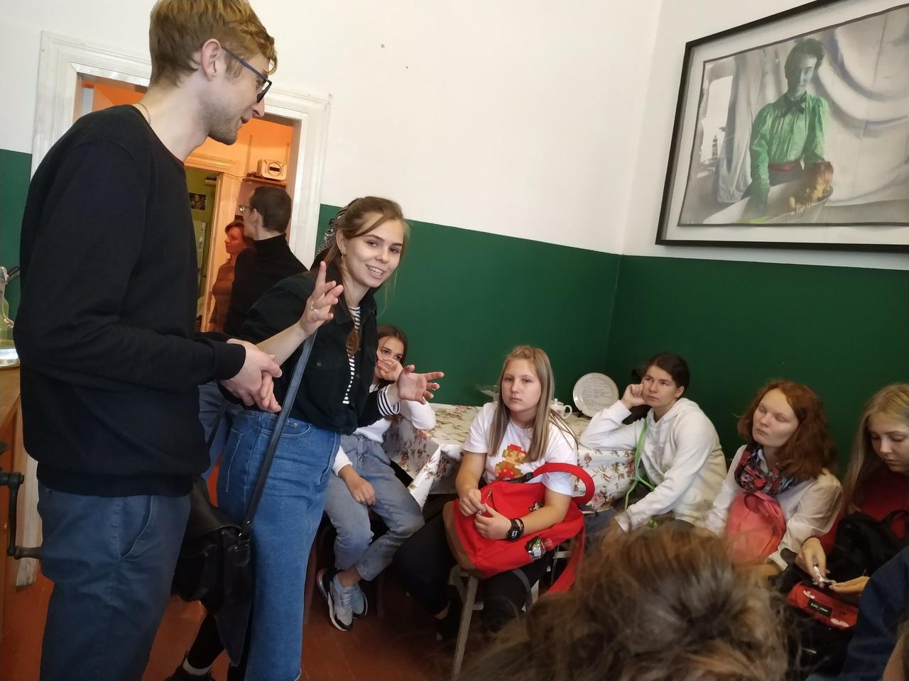 Новости Коломны   Школьники из Франции погуляли по Коломне Фото (Коломна)   iz zhizni kolomnyi