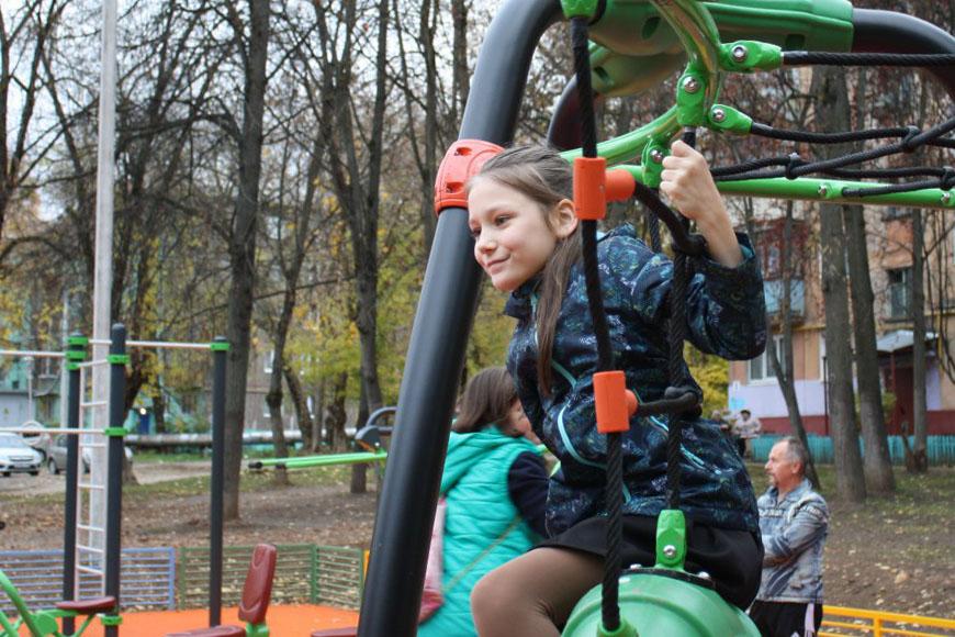 Новости Коломны   Новую детскую площадку открыли в Коломне во дворе на улице Леваневского Фото (Коломна)   iz zhizni kolomnyi