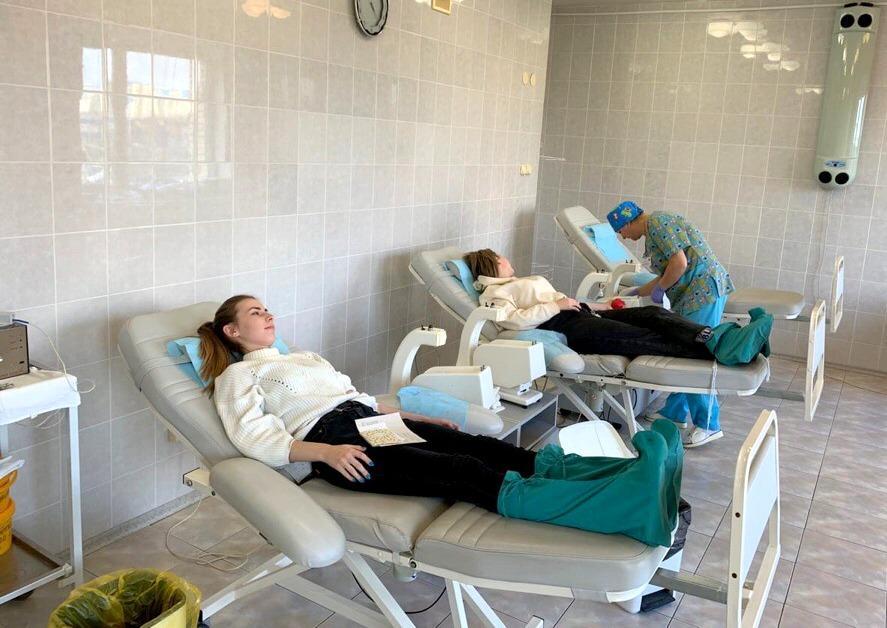 16 литров крови сдали студенты медколледжа для больниц Коломны
