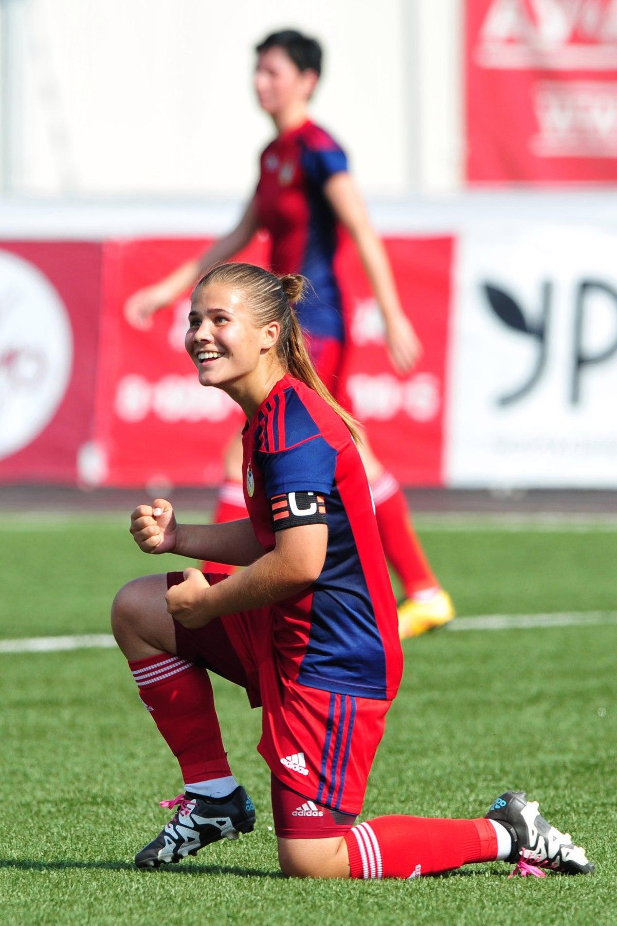 Коломчанка стала чемпионкой России по футболу