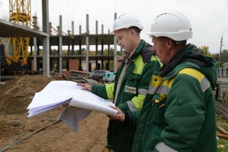 Строительство новой школы в поселке Пески идёт по графику