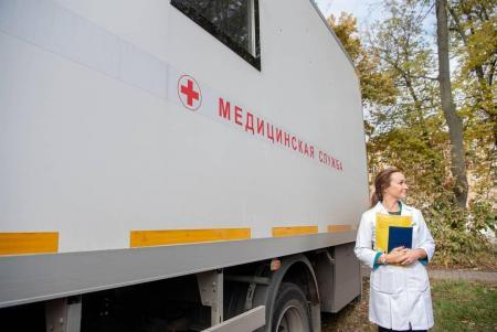 Почти 27 тыс. жителей Подмосковья привились против гриппа в мобильных пунктах вакцинации