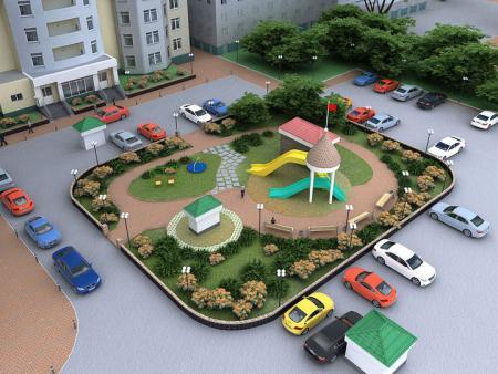 В администрации пройдет обсуждение благоустройства дворов в 2020 году