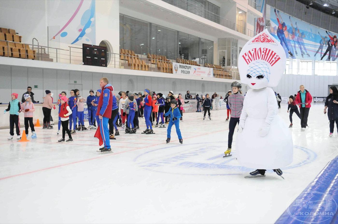 «Лёд надежды нашей» – яркий и незабываемый праздник массового спорта в Конькобежном центре «Коломна»
