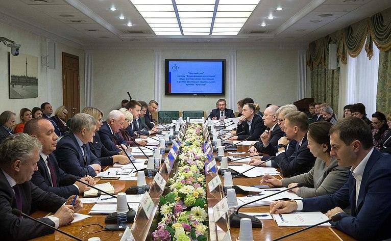 О развитии Коломны и других исторических поселений говорили на заседании «круглого стола» Совета Федерации