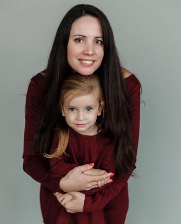 Трехлетняя коломчанка Лиза Воронкова стала первой вице-мисс Россия