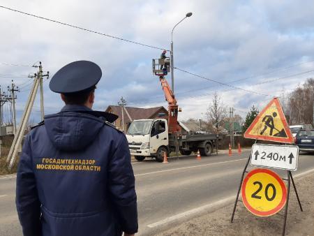 Баженов: в 9-ти муниципалитетах Подмосковья за неделю по предписаниям Госадмтехнадзора восстановлено освещение