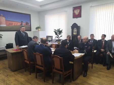 В Коломне состоялось первое заседание членов Общественного совета при УМВД