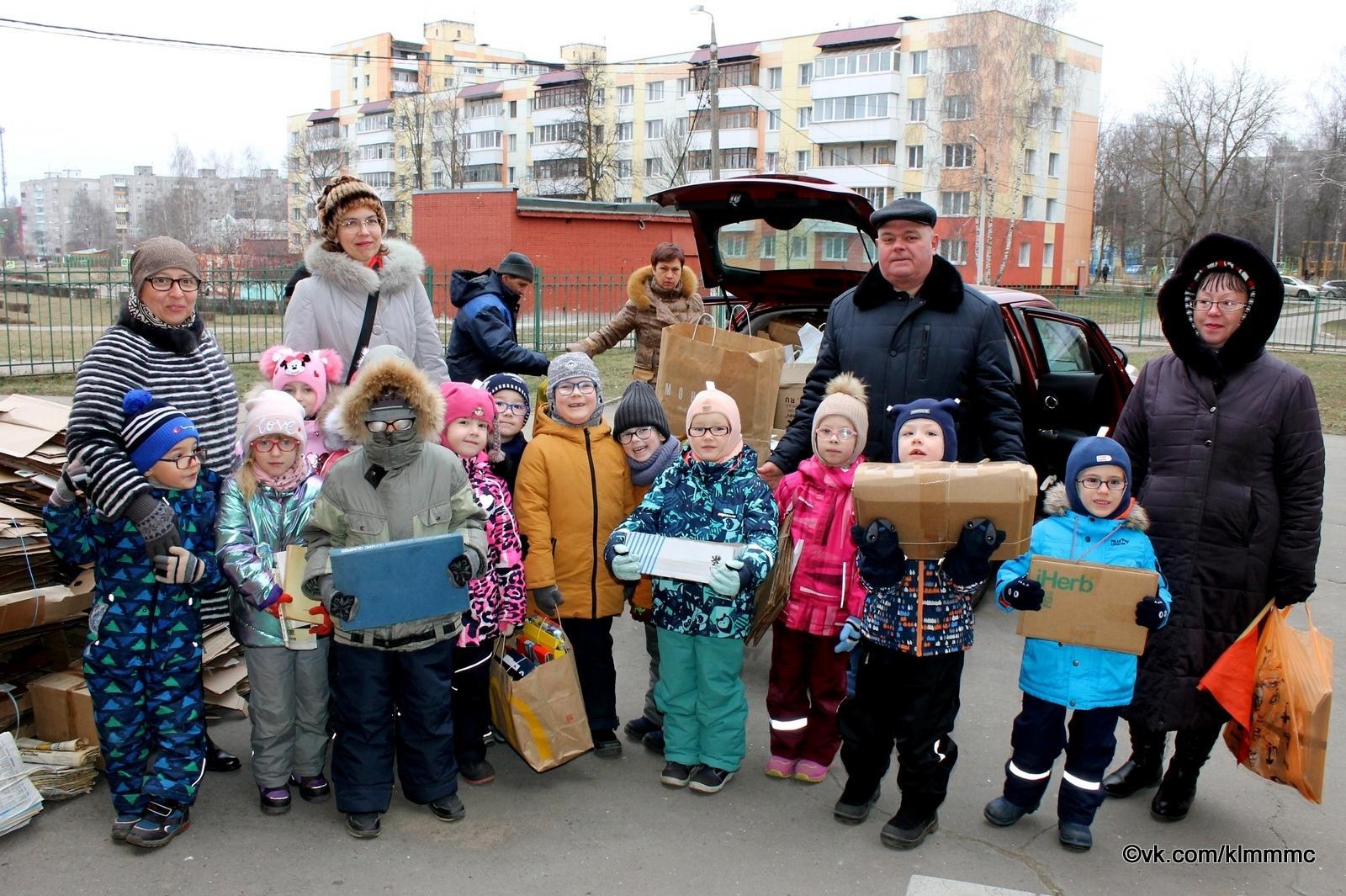 Больше всего макулатуры собрали учащиеся Проводниковской школы