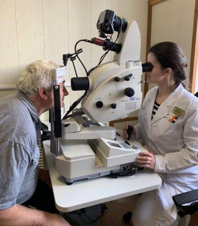 В Коломенскую ЦРБ поступил аппарат для обследования зрения
