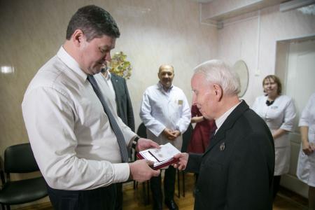 Коломенские медики получили награды в связи с празднованием 90-летия Московской области