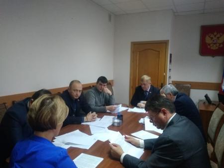 Заседание постоянной комиссии по социально-экономическому развитию, бюджетной, налоговой политике, имущественным вопросам Совета депутатов Коломенского городского округа 25.12.2019г.