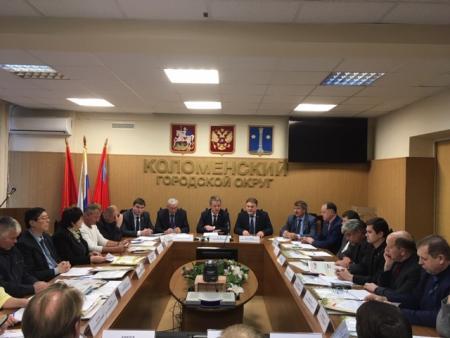Заседание Совета депутатов Коломенского городского округа 25.12.2019 г.