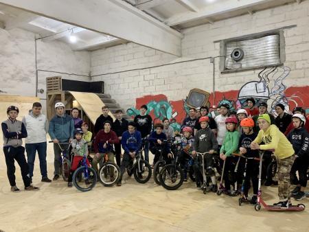 Молодогвардейцы Коломны провели соревнования для экстремальной молодежи города