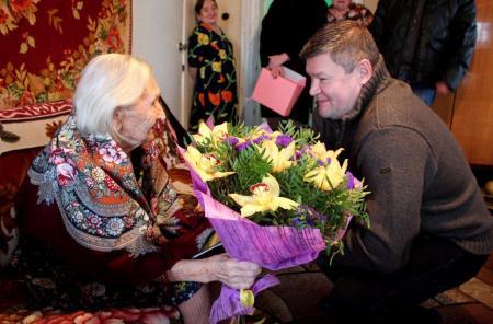 Жительница Коломны отметила 100-летний юбилей