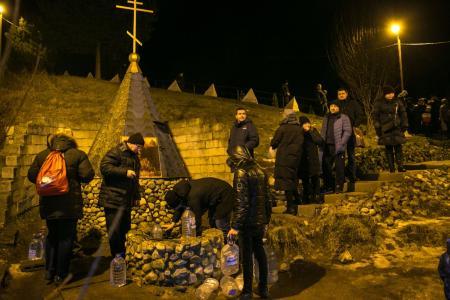Ночью в Крещенских купаниях в Коломенском городском округе приняли участие более 1400 человек